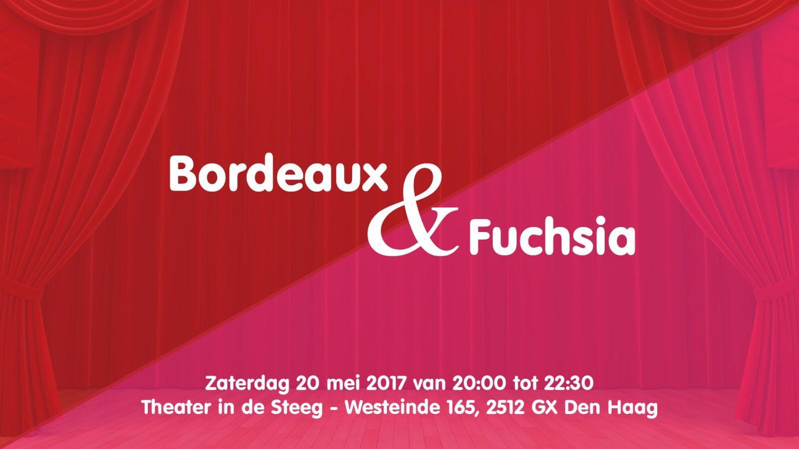 Bordeaux & Fuchsia