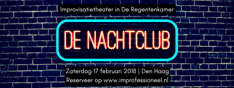 De Nachtclub – Improvisatietheater