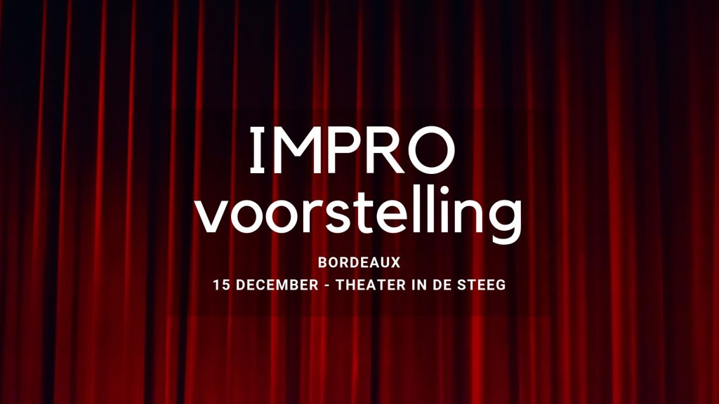 Impro-voorstelling Bordeaux
