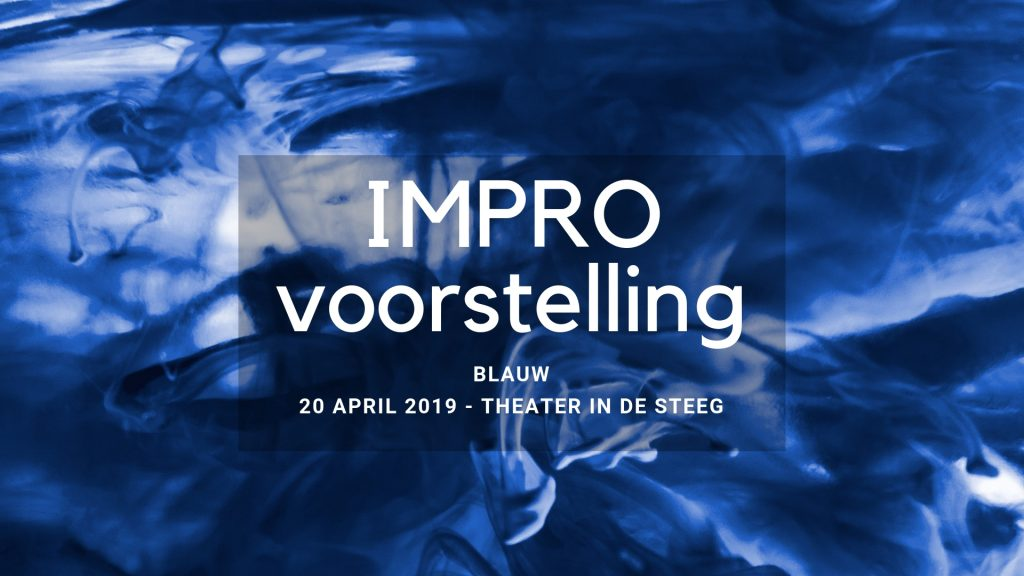 Impro-voorstelling Blauw