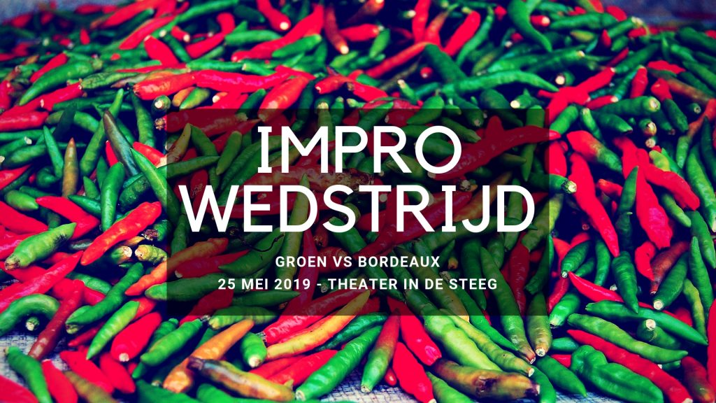 Impro-voorstelling: Groen vs Bordeaux